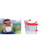 Ecran facial de protection - X'trem Protect Visor